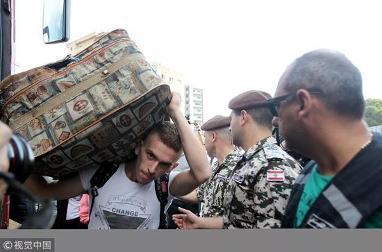 ▲叙利亚难民。 图片来源:视觉中国。