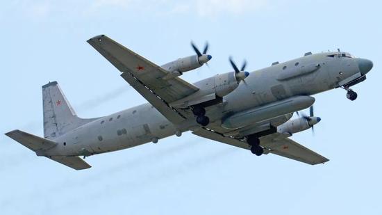 ▲俄罗斯伊尔-20侦察机