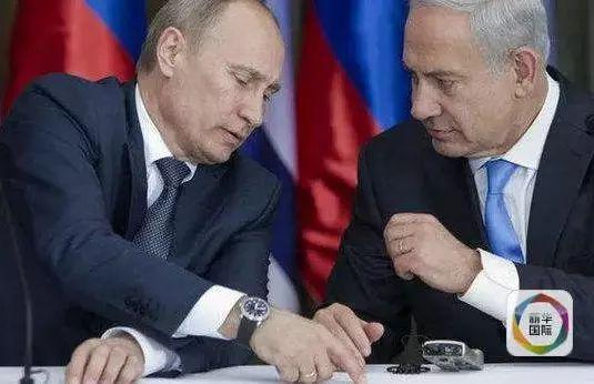 ▲普京与以色列总理内塔尼亚胡