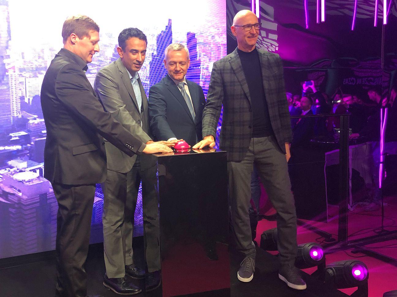 德国电信在华沙启动东欧首个5G网络,使用华为设备 图源:德国电信(Deutsche Telekom)