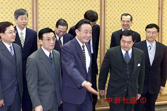 吴邦国会见台湾远东集团董事长(附图)