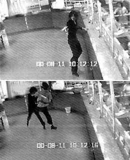 云南昆明一表情男扮女装持枪抢劫匪(附图)儿童图片幼儿银行图片
