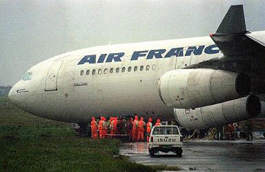 这架航班是从上海飞往巴黎的法航af111航班
