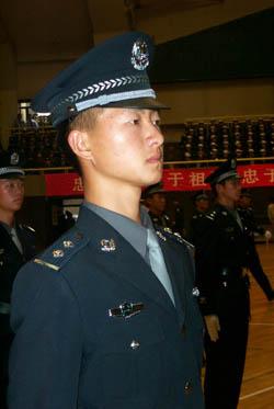 中国公安警服_热烈的\