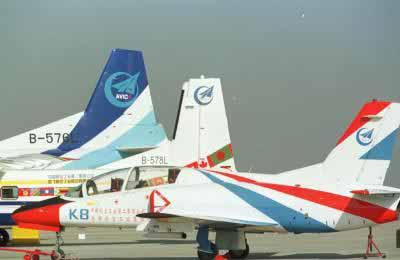 图文:国产民用飞机陆续抵达珠海