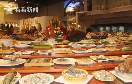 天下第一奇石宴1088道菜以假乱真 估价6.8亿元