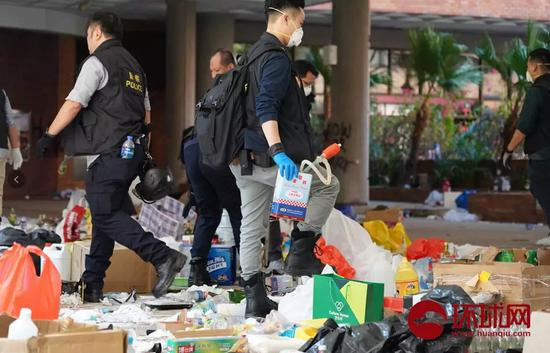 香港理工大学发声明称预计校园明日可以解封