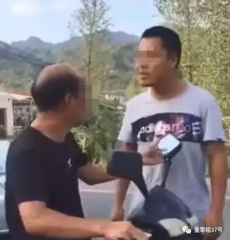 ▲常太(化名)当街殴打20年前班主任的视频,被发布在网络上。 网传视频截图