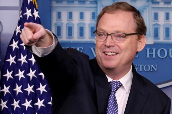 特朗普首席经济顾问哈西特(图源:《新闻周刊》)