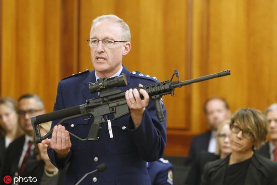新西兰高票通过禁枪首轮投票 唯一反对者闹了笑话