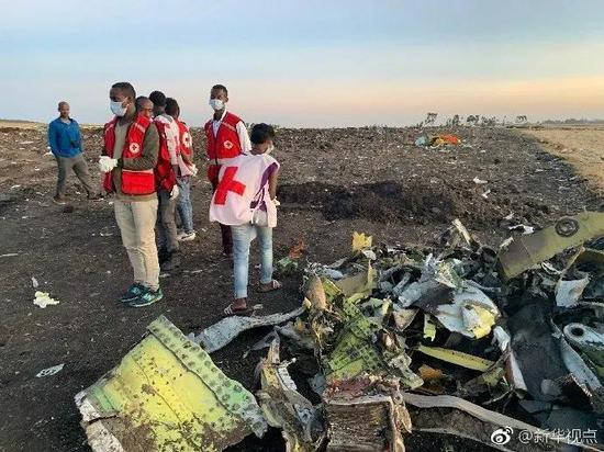 埃航客机最后6分钟状态曝光 飞机在农田撞出深坑