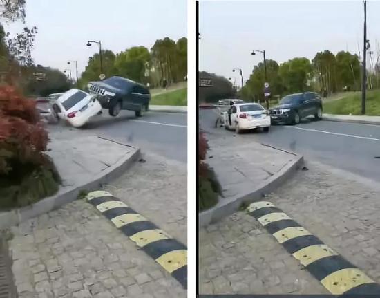 杭州男子强开别人的车连撞8车 警方通报