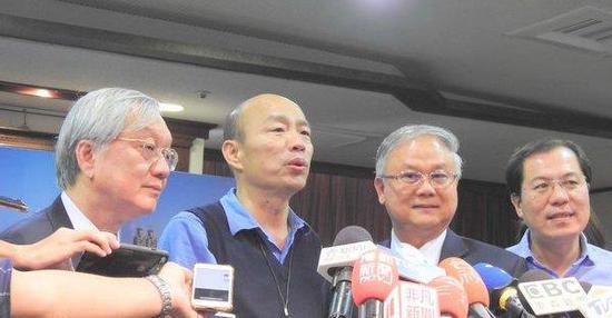 澳门采购团赴高雄拜会韩国瑜。