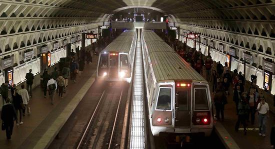 华盛顿某地铁站 图源:俄罗斯卫星通讯社
