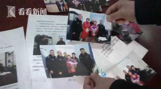初三男生连续7年正月初一朗诵诗歌给警察拜年(图)