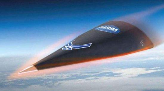 图为美国高超音速武器示意图