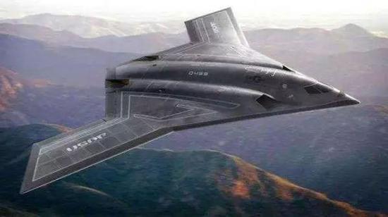▲美国B-21战略轰炸机想象图