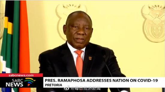 南非总统拉马福萨