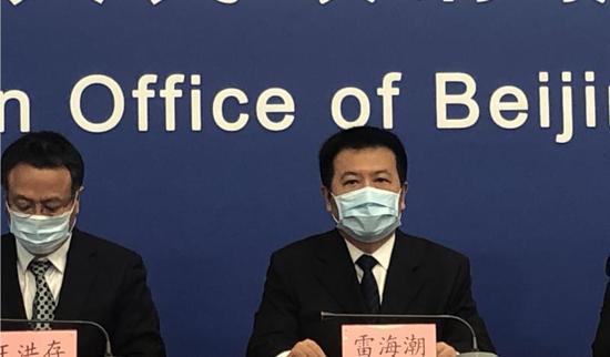 北京:新发地市场人群疫情已呈下降趋势
