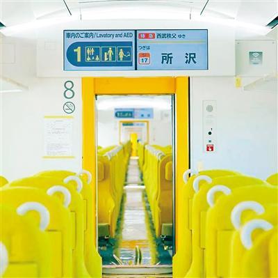 """知名建筑师操刀设计 日本""""隐形列车""""正式投运"""
