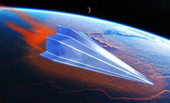 图为高超音速武器示意图