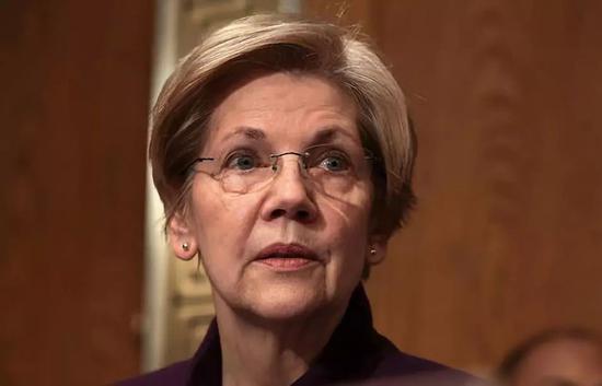 ▲图为有心参加美国2020年总统大选的民主党白人女议员沃伦