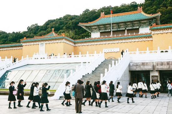 台北故宫博物院 图自台媒