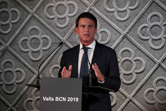 法国前总理将竞选西班牙巴塞罗那市长 辞法国议员
