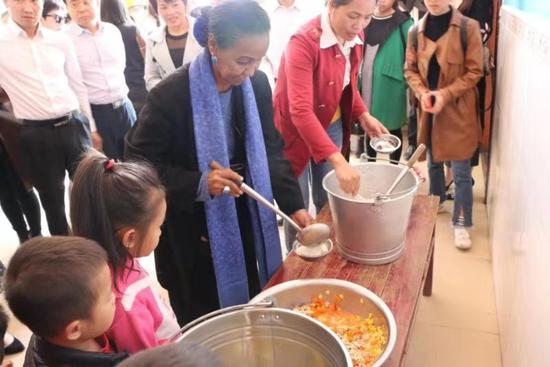 世界粮食计划署启动广西学龄前儿童营养改善试点项目