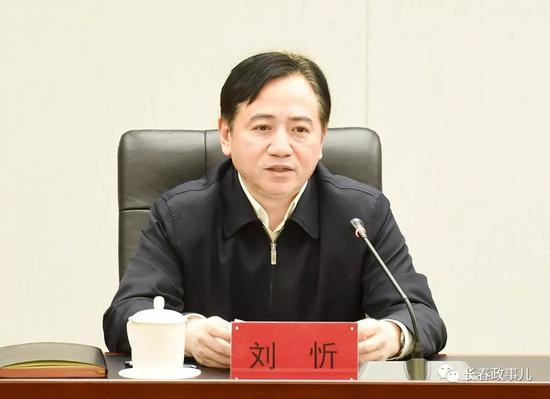 """刘忻 ?""""长春政事儿""""微信公众号 图"""