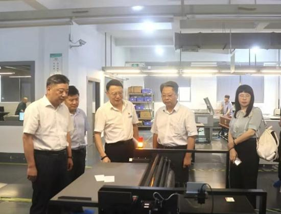 劳泓副厅长赴杭州市萧山区开展三访三看调研