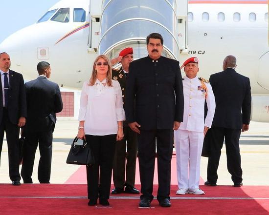 委内瑞拉总统马杜罗(Nicolas Maduro)将前往中国进行访问。图片来源:委内瑞拉VTV电视台