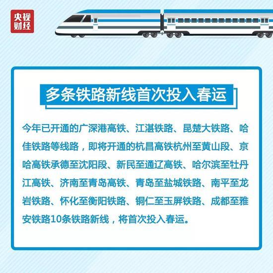2019春运火车票本周日开售 购票日历火速转存(图)
