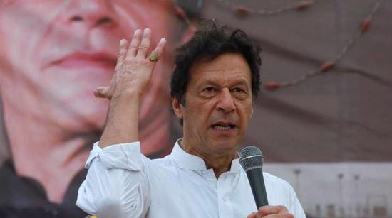 资料图:巴基斯坦总理伊姆兰・汗