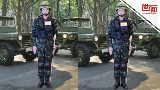 泰国新王后官方肖像发布 网友:PS技术不过关(图)