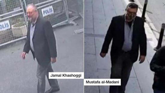 美媒:沙特特工疑似穿失踪记者衣服走出领馆(图)