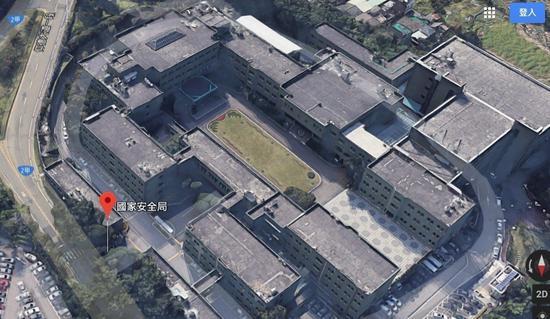 """部署在台北都会区的""""国家安全局""""本部被立体还原 图丨联合报"""