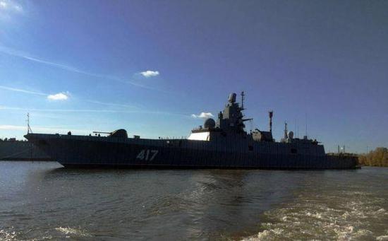图为俄海军20350型护卫舰