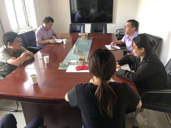 天津北辰区领导到大张庄司法所检查督导工作