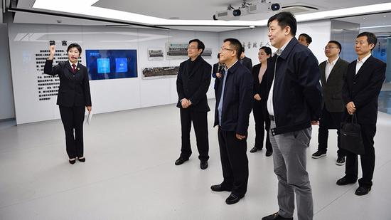 上海公兴搬迁  公司高检院办公厅主任王松苗赴上海普陀区院调研