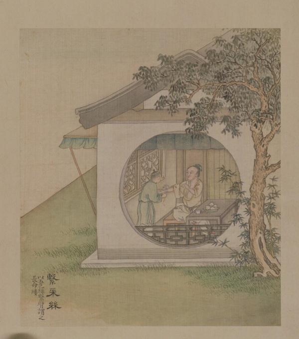 除了悬菖挂艾的习俗外,端午节其实还要沐浴兰汤