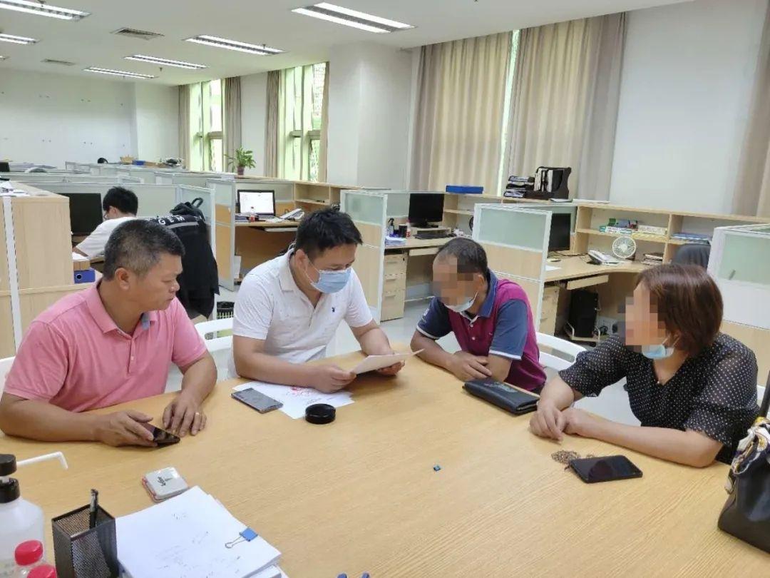 △东莞市应急管理局长安分局对物业管理公司进行约谈