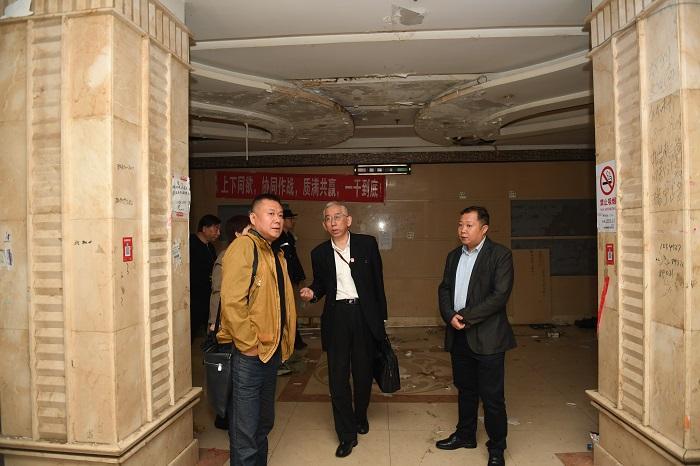 原龙华机场航站楼改造饭店租赁到期拒不搬走被法院强制执行,将变