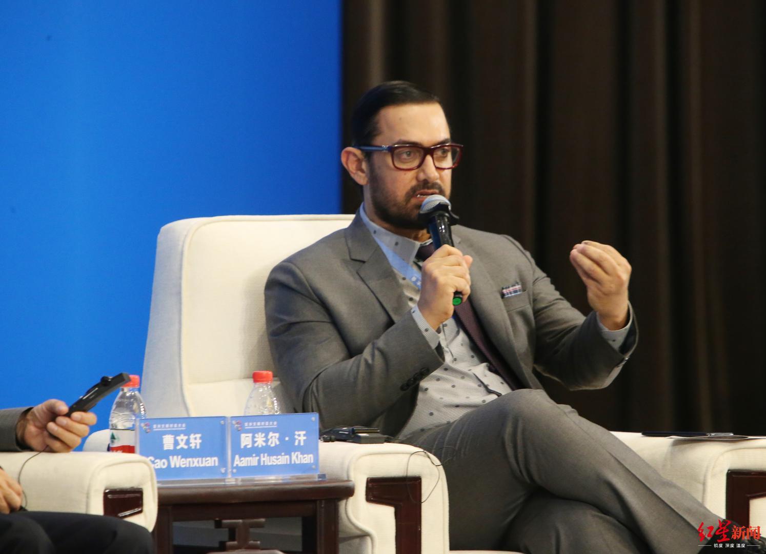 陈道明对话阿米尔·汗:电影的下一个方向,是向