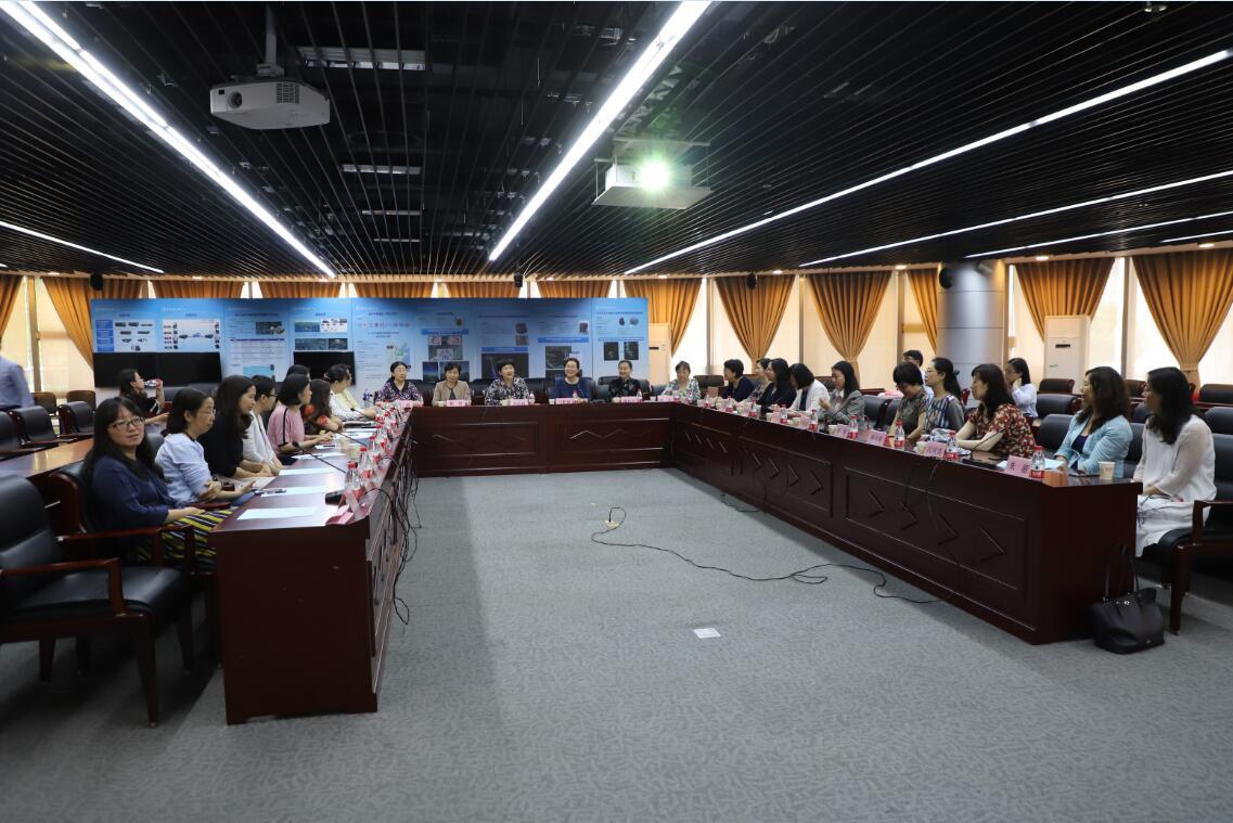 天津大学女教授代表团来我校调研交流