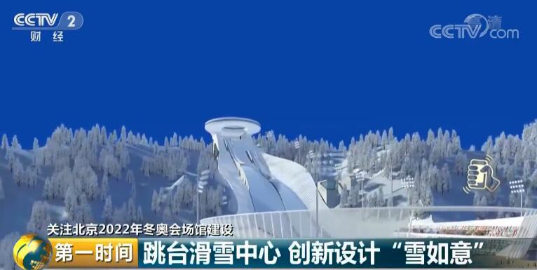 """抢先看!北京2022年冬奥会跳台滑雪中心创新设计"""""""