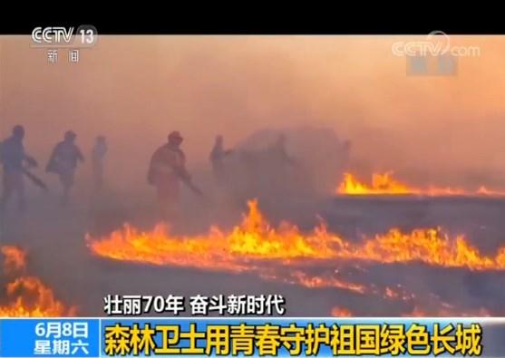 【壮丽70年 奋斗新时代】森林卫士用青春守护祖国绿色长城