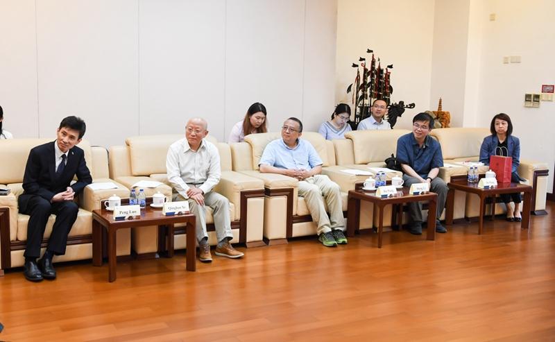 6月12日以色列希伯来大学前校长来访新闻稿