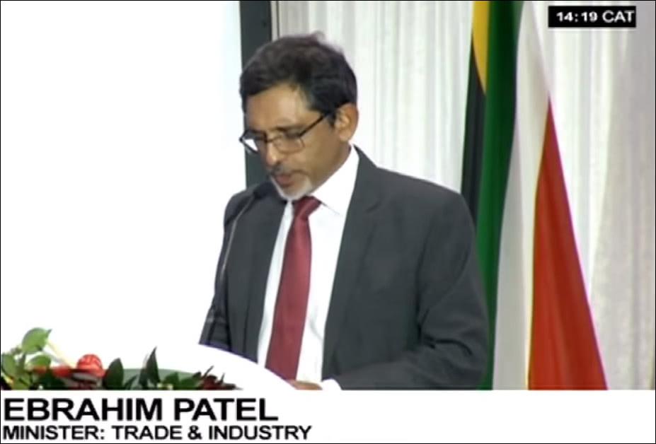 南非贸易与工业部长:下个五年计划,从与中企签93项130亿协议开