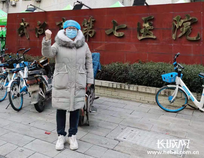 """保定援鄂医生王维的""""战地""""日记"""